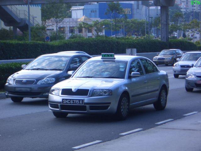 Skoda Superb Taxi Singapore
